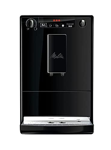 Melitta Caffeo Solo E 950-222 Kaffeevollautomat (Exzellenter Kaffee-Genuss dank Vorbrühfunktion und herausnehmbarer Brühgruppe) pure...