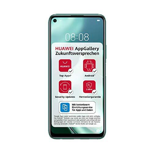 HUAWEI P40 lite 5G Dual-SIM Smartphone BUNDLE (16,51cm(6,5 Zoll), 128 GB ROM, 6 GB RAM, Android 10.0 AOSP ohne Google Play Store, EMUI...