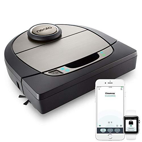 Neato Robotics Botvac D7 Connected - Premium Saugroboter mit Ladestation, Wlan & App - Staubsauger Roboter, Alexa-kompatibel & für...