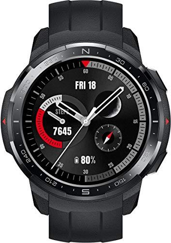 HONOR Watch GS Pro Smartwatch (35 mm AMOLED-Display, SpO2-Messung, Herzfrequenzmessung, Musik-Steuerung & Bluetooth Telefonie, 50 m...