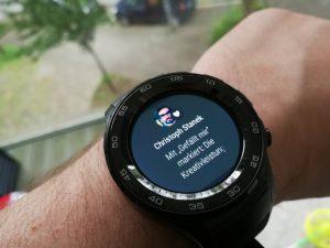 Huawei Watch 2 Benachrichtigung