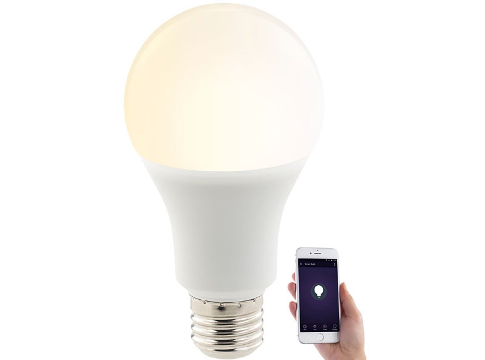 Die smarten luminea wlan led lampen im test home of smart parisarafo Image collections